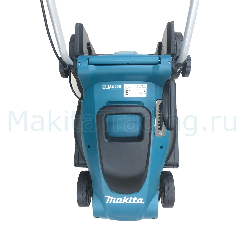 газонокосилка электрическая Makita Elm4120 41см несамоходная